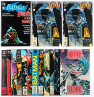 Lot of (15) Batman DC Comic Books with Issues Ranging From #1-494 at PristineAuction.com
