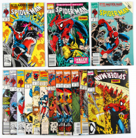 Lot of (15) Spider-Man Marvel Comic Books with Issues Ranging From #2-328 at PristineAuction.com