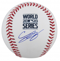 Cody Bellinger Signed 2020 World Series Baseball (MLB Hologram & Fanatics Hologram) at PristineAuction.com