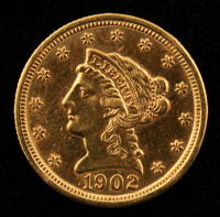1902 $2.50 Liberty Head Quarter Eagle Gold Coin at PristineAuction.com