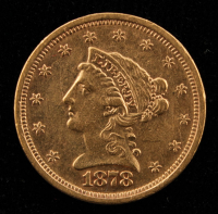 1878 $2.50 Liberty Head Quarter Eagle Gold Coin at PristineAuction.com