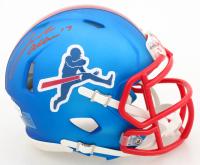 Josh Allen Signed Bills Speed Mini Helmet (Beckett COA) at PristineAuction.com
