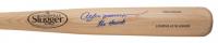 "Andre Dawson Signed Louisville Slugger Baseball Bat Inscribed ""The Hawk"" (JSA COA) at PristineAuction.com"