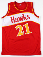 Dominique Wilkins Signed Jersey (Beckett COA) at PristineAuction.com