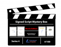 Entertainment Autographs Signed Script Mystery Box - Movie Edition Series 4 at PristineAuction.com