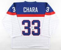 Zdeno Chara Signed Jersey (Chara COA) at PristineAuction.com