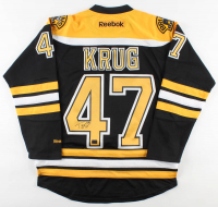Torey Krug Signed Bruins Jersey (Krug COA) at PristineAuction.com