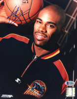 Antawn Jamison Signed Warriors 8x10 Photo (Beckett COA) at PristineAuction.com