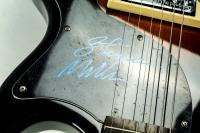 """Steve Miller Signed 40"""" Epiphone Junior Model Electric Guitar (JSA COA) at PristineAuction.com"""
