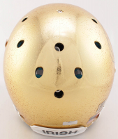 Jerome Bettis Signed Notre Dame Fighting Irish Full-Size Authentic On-Field Chrome Raindrop Helmet (Radtke COA) at PristineAuction.com