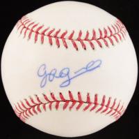 Gabriel Guerrero Signed OML Baseball (MLB Hologram & Fanatics Hologram) at PristineAuction.com