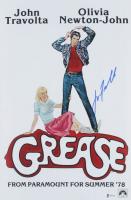 "John Travolta Signed ""Grease"" 12x18 Poster Print (Beckett COA) at PristineAuction.com"