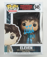 """Millie Bobby Brown Signed """"Stranger Things"""" #545 Eleven Funko Pop! Vinyl Figure Inscribed """"011"""" (Beckett COA) at PristineAuction.com"""