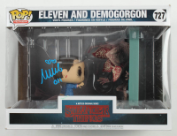 "Millie Bobby Brown Signed ""Stranger Things"" #727 Eleven and Demogorgon Funko Pop! Vinyl Figure Inscribed ""011"" (Beckett COA) at PristineAuction.com"