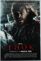 "Chris Hemsworth & Tom Hiddleston Signed ""Thor"" 27x40 Movie Poster (AutographCOA LOA) at PristineAuction.com"