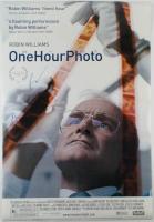 """Robin Williams & Eriq La Salle Signed """"One Hour Photo"""" 27x40 Movie Poster (AutographCOA LOA) at PristineAuction.com"""