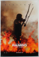 "Sylvester Stallone Signed ""Rambo: Last Blood"" 27x40 Movie Poster (AutographCOA LOA) at PristineAuction.com"