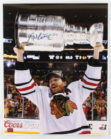Duncan Keith Signed Blackhawks 16x20 Photo (Keith COA) at PristineAuction.com