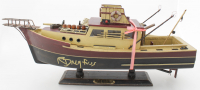 "Richard Dreyfuss Signed ""Jaws"" Orca Model Boat (JSA COA) at PristineAuction.com"