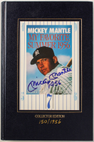 """Mickey Mantle Signed """"My Favorite Summer 1956"""" LE Hardcover Book Inscribed """"1956"""" (JSA LOA) at PristineAuction.com"""