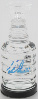 Victor Hedman Signed Lightning 2020 Stanley Cup Champions Mini Crystal Stanley Cup Filled with Game-Used Ice (Hedman COA & Fanatics COA) at PristineAuction.com