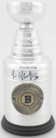 Tim Thomas Signed 2011 Mini Stanley Cup (YSMS COA) at PristineAuction.com