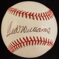 Ted Williams Signed OL Baseball (PSA LOA) at PristineAuction.com