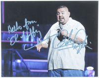 """Gabriel Iglesias Signed 11x14 Photo Inscribed """"Hello from 'El Fluffy'"""" (JSA COA) at PristineAuction.com"""