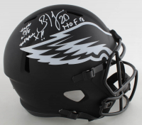 Brian Dawkins Signed Eagles Full-Size Eclipse Alternate Speed Helmet with Multiple Inscriptions (JSA COA) at PristineAuction.com