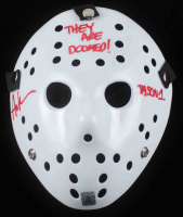 "Ari Lehman Signed ""Friday the 13th"" Mask Inscribed ""They Are Doomed!"" & ""Jason 1"" (Lehman Hologram) at PristineAuction.com"