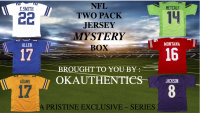 OKAUTHENTICS NFL TWO Pack Jersey Mystery Box Series I at PristineAuction.com