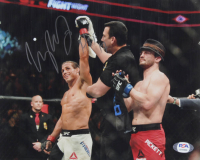"Urijah Faber Signed UFC 8x10 Photo Inscribed ""HOF 17"" (PSA COA) at PristineAuction.com"