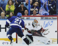 Brayden Point Signed Lightning 8x10 Photo (PSA COA) at PristineAuction.com