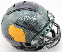 Jordy Nelson Signed Full-Size Authentic On-Field Hydro-Dipped F7 Helmet (JSA COA) at PristineAuction.com