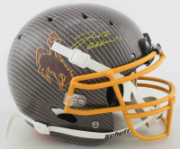 Josh Allen Signed Wyoming Cowboys Full-Size Authentic On-Field Hydro-Dipped Helmet (Beckett COA) at PristineAuction.com