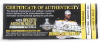 Dennis Seindenberg Signed Bruins 24x72 Custom Vinyl Street Banner (Seindenberg COA) at PristineAuction.com