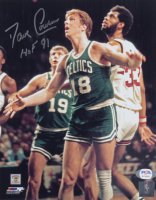 "Dave Cowens Signed Celtics 8x10 Photo Inscribed ""HOF 91"" (PSA COA) at PristineAuction.com"