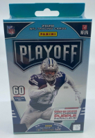 2020 Panini Playoff Football Hanger Box with (60) Cards at PristineAuction.com