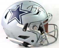 Tony Romo Signed Cowboys Full-Size Authentic On-Field SpeedFlex Helmet (Beckett COA) at PristineAuction.com