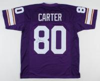 Cris Carter Signed Jersey (JSA COA) at PristineAuction.com