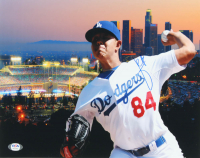 Julio Urias Signed Dodgers 11x14 Photo (PSA COA) at PristineAuction.com