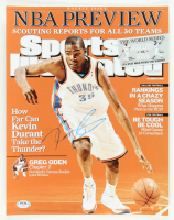 Kevin Durant Signed Thunder 11x14 Photo (PSA COA) at PristineAuction.com