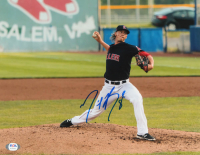 Michael Kopech Signed Red Sox 11x14 Photo (PSA COA) at PristineAuction.com