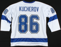Nikita Kucherov Signed Jersey (Kucherov COA) at PristineAuction.com