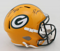 Preston Smith & Za'Darius Smith Signed Packers Full-Size Speed Helmet (Beckett COA) at PristineAuction.com