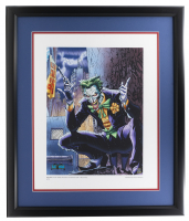 The Joker DC Comics Comic Issue #614 17x24 Custom Framed Giclee Display (Classic Moments COA) at PristineAuction.com