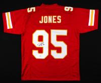 Chris Jones Signed Jersey (Beckett COA) at PristineAuction.com
