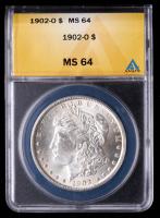 1902-O Morgan Silver Dollar (ANACS MS64) at PristineAuction.com