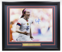 Rose Lavelle Signed Team USA 22x27 Custom Framed Photo Display (JSA COA) at PristineAuction.com