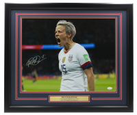 Megan Rapinoe Signed Team USA 22x27 Custom Framed Photo Display (JSA COA) at PristineAuction.com